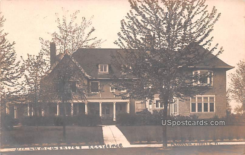 Dt Lamcasniye's Residence - Alma, Michigan MI Postcard