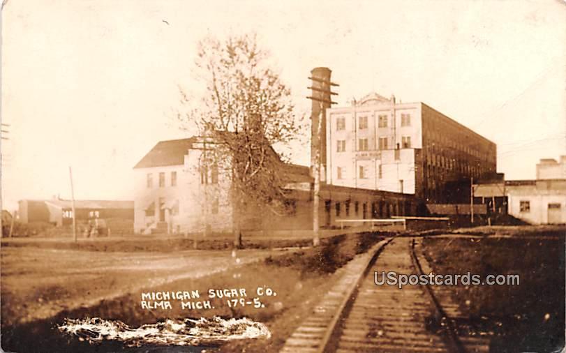 Michigan Sugar Co - Alma Postcard