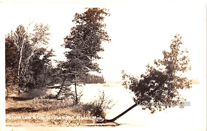 Grand Lake - Alpena, Michigan MI Postcard