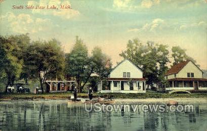 South Side Base Lake - MIsc, Michigan MI Postcard