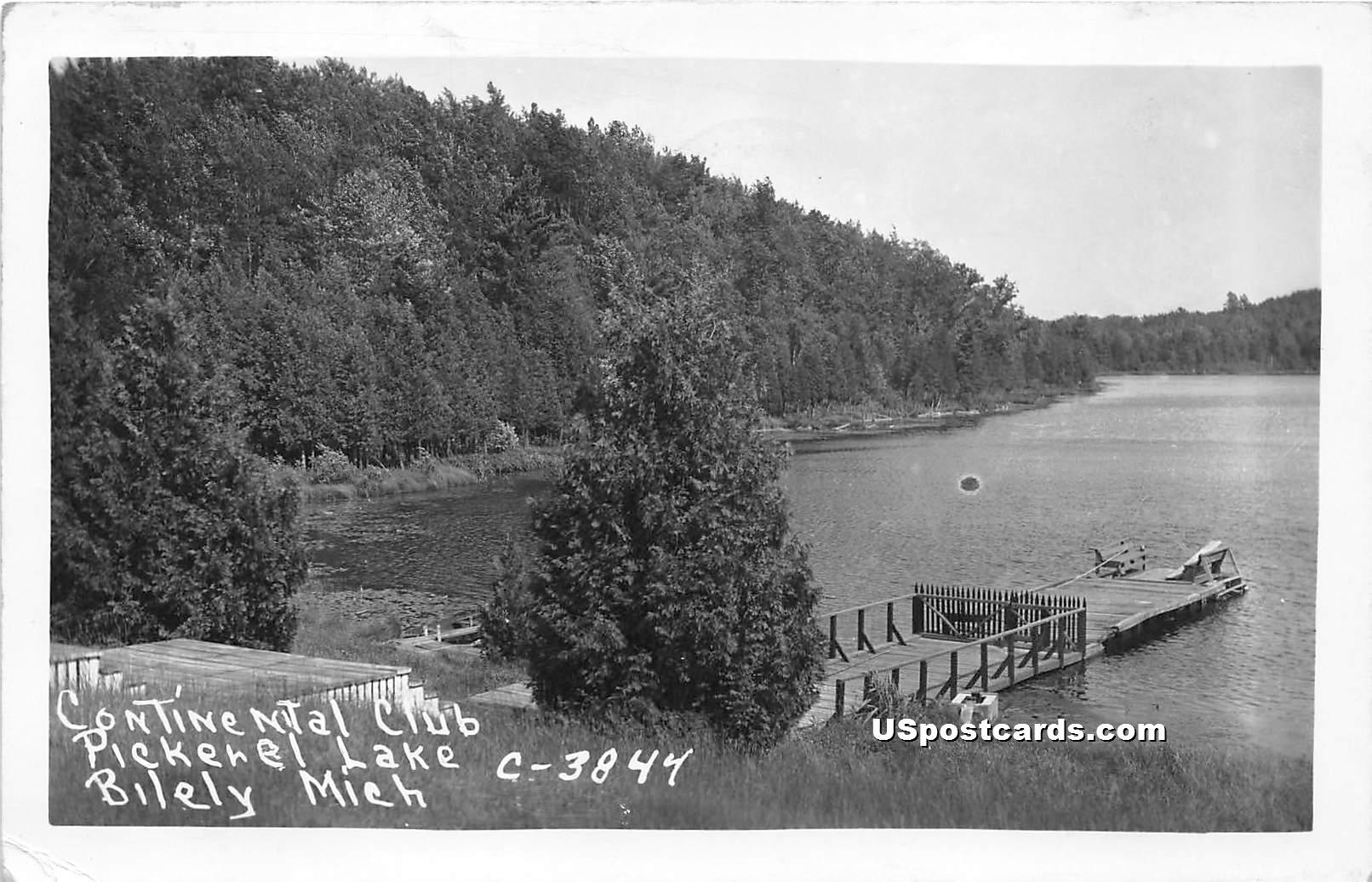 Continental Club - Bitely, Michigan MI Postcard