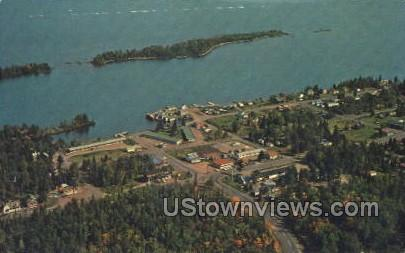 Keweenaw County - Copper Harbor, Michigan MI Postcard