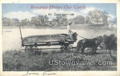Constantine, Michigan, MI, Postcard