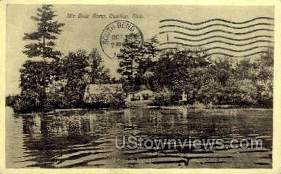 Idle Hour Camp - Cadillac, Michigan MI Postcard