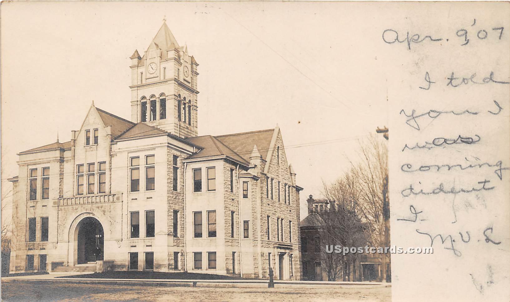 Building - Cassapolis, Michigan MI Postcard