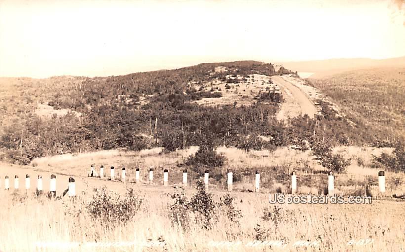 Brockway Mountain Drive - Copper Harbor, Michigan MI Postcard