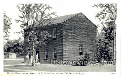 Lincoln Court House, Greenfield Village - Dearborn, Michigan MI Postcard