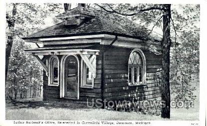 Luther Burbank's Office, Greenfield Village - Dearborn, Michigan MI Postcard
