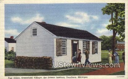 The Edison Institute - Dearborn, Michigan MI Postcard