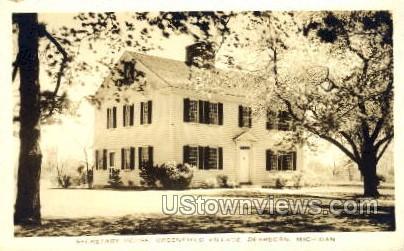 Secretary House, Greenfield Village - Dearborn, Michigan MI Postcard