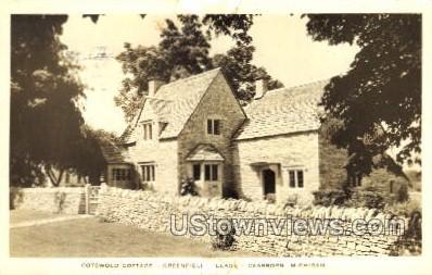 Cotswold Cottage, Greenfield Village - Dearborn, Michigan MI Postcard