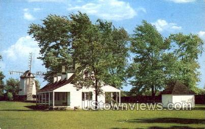 Susquehanna House, Greenfield Village - Dearborn, Michigan MI Postcard