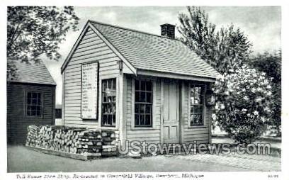 Toll House Shoe Shop, Greenfield Village - Dearborn, Michigan MI Postcard