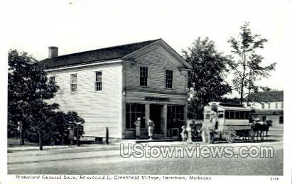 Waterford General Store, Greenfield Village - Dearborn, Michigan MI Postcard