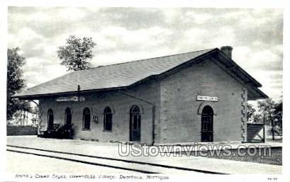 Smith's Creek Depot, Greenfield Village - Dearborn, Michigan MI Postcard