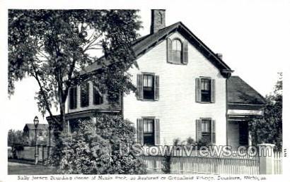Sally Jordan Boarding House - Dearborn, Michigan MI Postcard