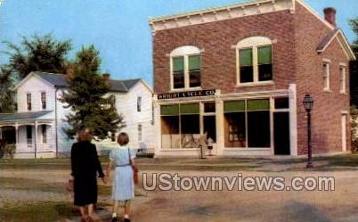 Wright Cycle Shop - Dearborn, Michigan MI Postcard