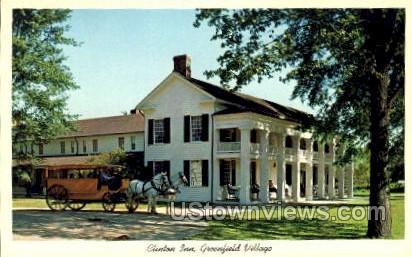 Clinton Inn, Greenfield Village - Dearborn, Michigan MI Postcard