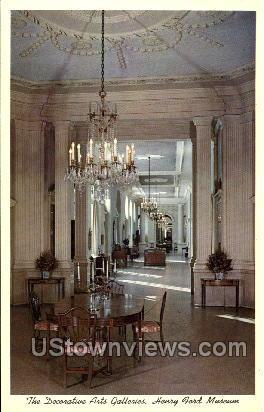 Henry Ford Museum - Dearborn, Michigan MI Postcard