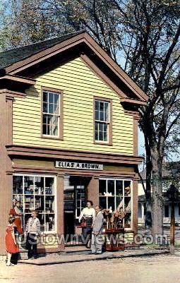 General Store, Greenfield Village - Dearborn, Michigan MI Postcard