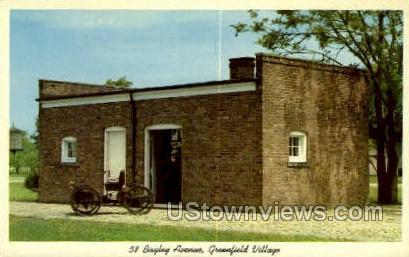 58 Bagley Ave, Greenfield Village - Dearborn, Michigan MI Postcard
