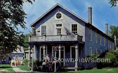 Thomas Edison's Lab - Dearborn, Michigan MI Postcard