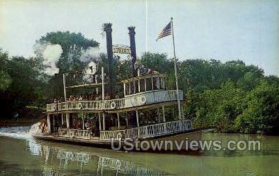 Suwanne River - Dearborn, Michigan MI Postcard
