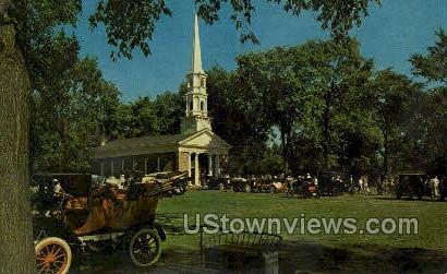 Old Car Festival, Greenfield Village - Dearborn, Michigan MI Postcard