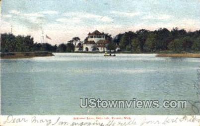 Artificial Lake, Belle Isle - Detroit, Michigan MI Postcard