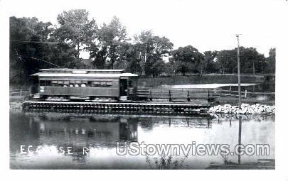 Reproduction - Ecorse River - Detroit, Michigan MI Postcard