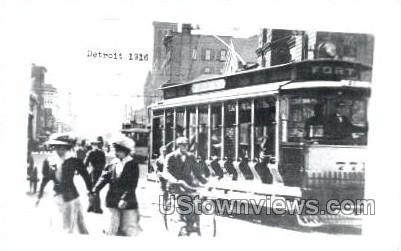 Reproduction, Detroit, 1916 - Michigan MI Postcard