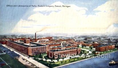 Davis and Company - Detroit, Michigan MI Postcard