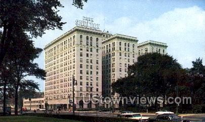 Park Shelton Hotel - Detroit, Michigan MI Postcard
