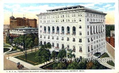 Y. M. C. A. - Detroit, Michigan MI Postcard
