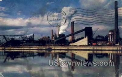 River Rouge - Detroit, Michigan MI Postcard