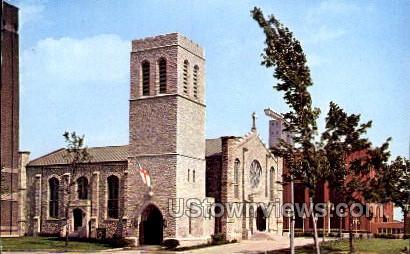 Old Mariners' Church - Detroit, Michigan MI Postcard