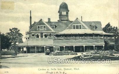Casino at Belle Isle - Detroit, Michigan MI Postcard