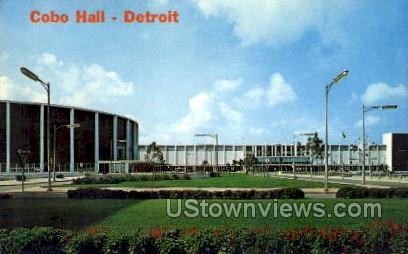 Cobo Hall - Detroit, Michigan MI Postcard