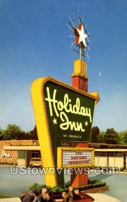 Holiday Inn - Detroit, Michigan MI Postcard