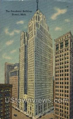 The Penobscot Building - Detroit, Michigan MI Postcard