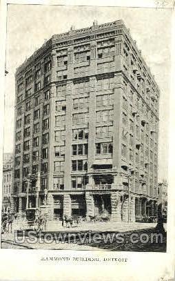 Hammond Building - Detroit, Michigan MI Postcard