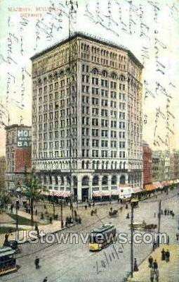 Majestic Bldg - Detroit, Michigan MI Postcard