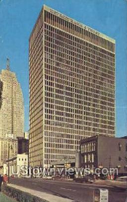 Detroit Bank & Trust Bldg - Michigan MI Postcard