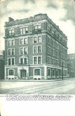 YWCA Bldg - Detroit, Michigan MI Postcard