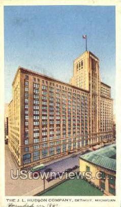 The J.L. Hudson Company - Detroit, Michigan MI Postcard