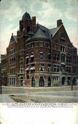 Young Men's Christian Assoc - Detroit, Michigan MI Postcard
