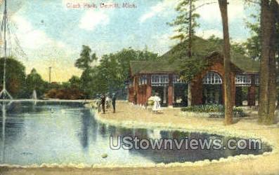 Clark Park - Detroit, Michigan MI Postcard