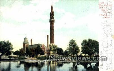 Water Works Tower - Detroit, Michigan MI Postcard