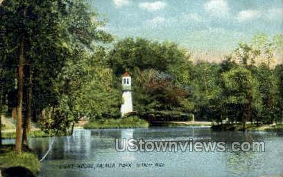 Palmer Park - Detroit, Michigan MI Postcard