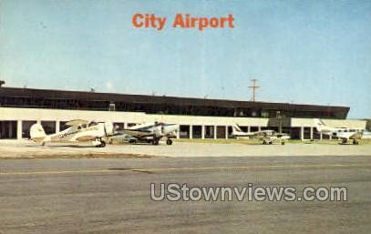 City Airport - Detroit, Michigan MI Postcard